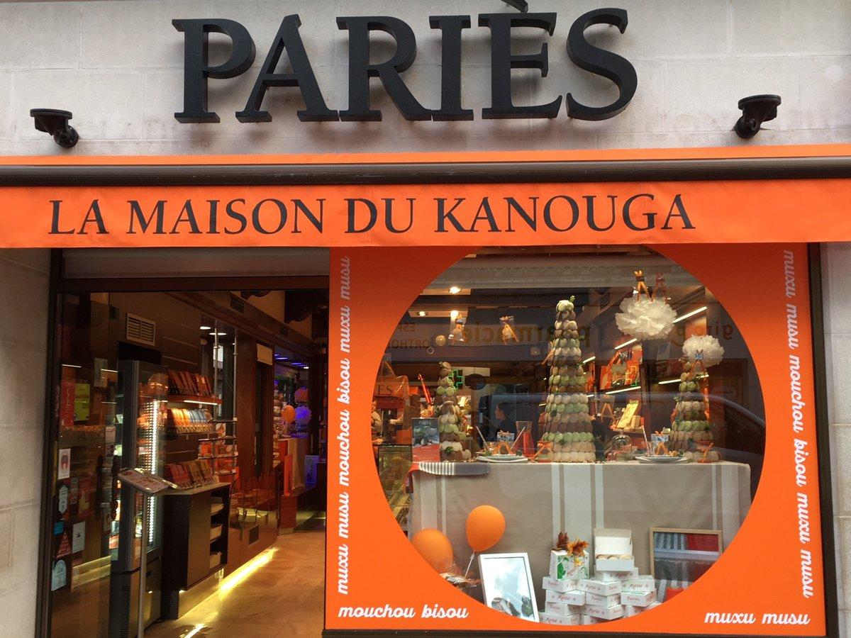 Maison Pariès boutique de Saint-Jean-de-Luz