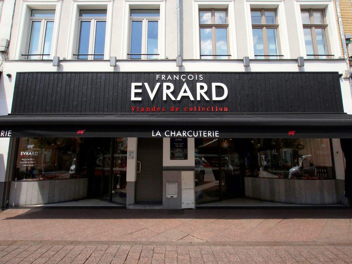 Maison Evrard boucherie à Lille façade