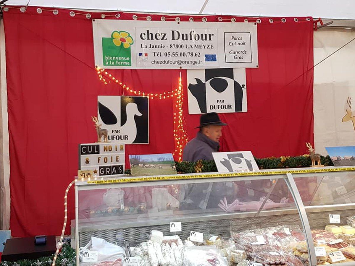 Éleveur de porcs Chez Dufour