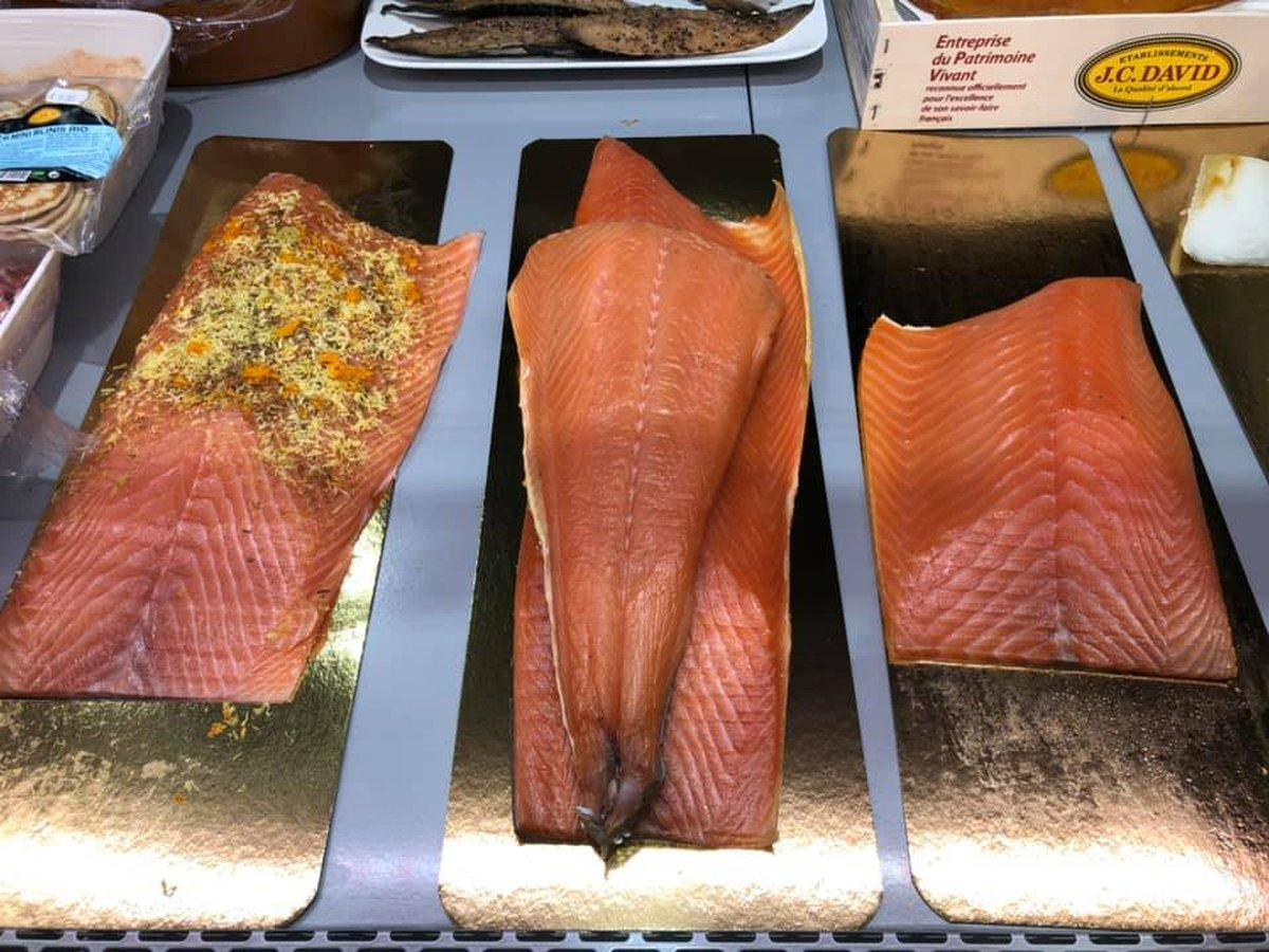 saumon fumé gravlax wambrechies