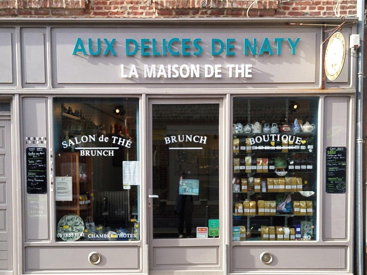 Salon de thé Aux Délices de Naty