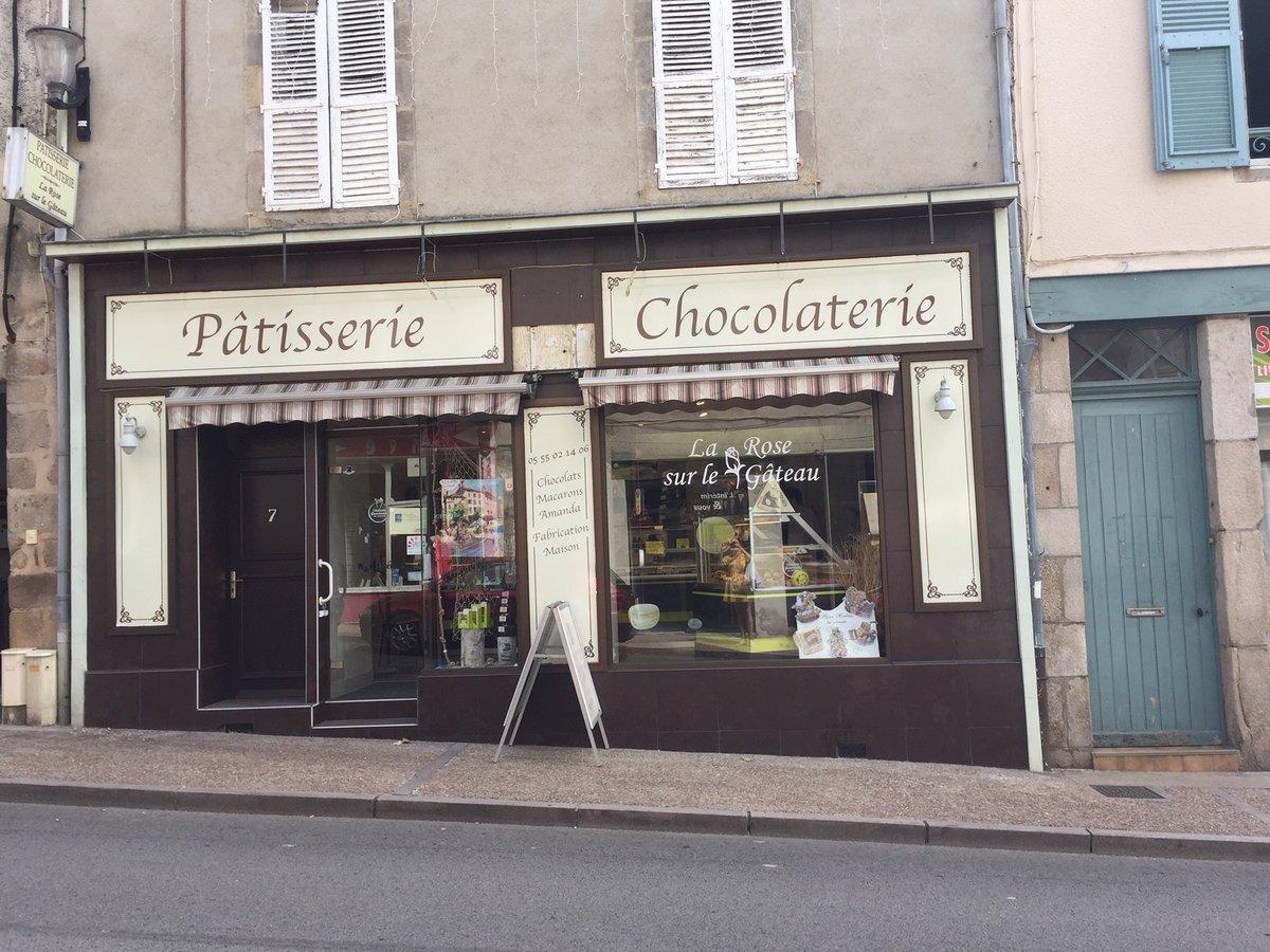La Rose sur le Gâteau à Saint-Junien en Haute-Vienne