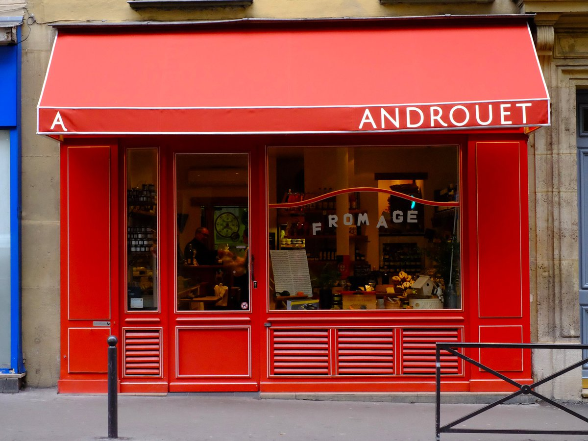 Fromager affineur Androuet - Terrasse