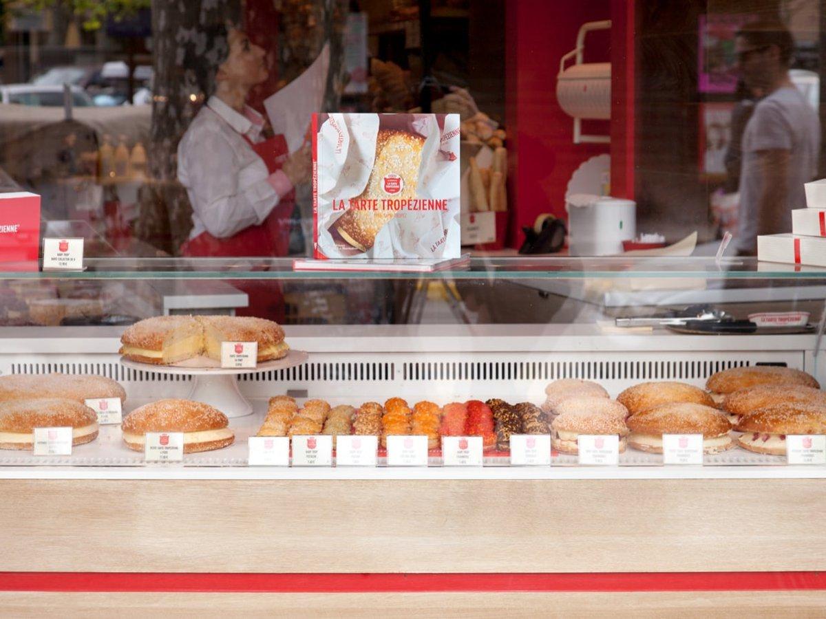 La tarte Tropézienne à Saint Tropez