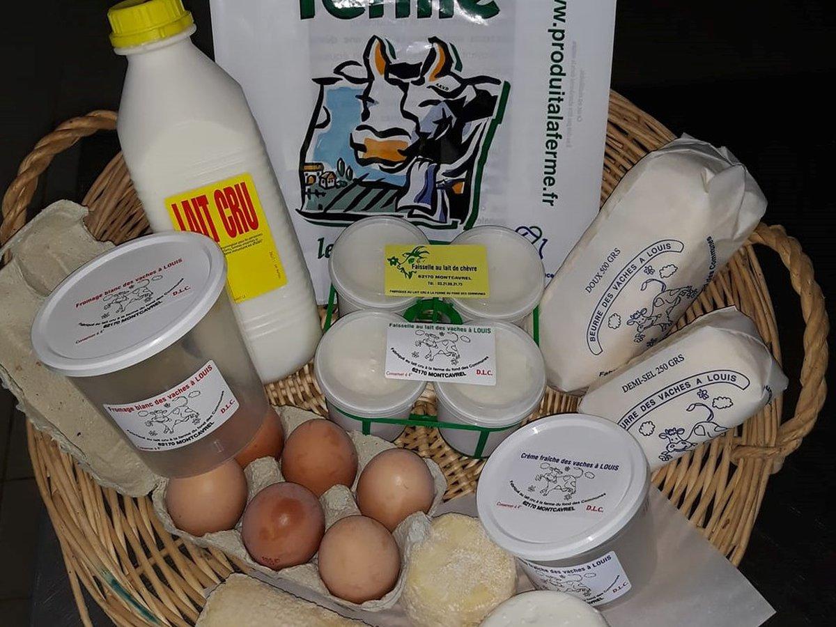 Producteur de produits laitiers La ferme du fond des communes