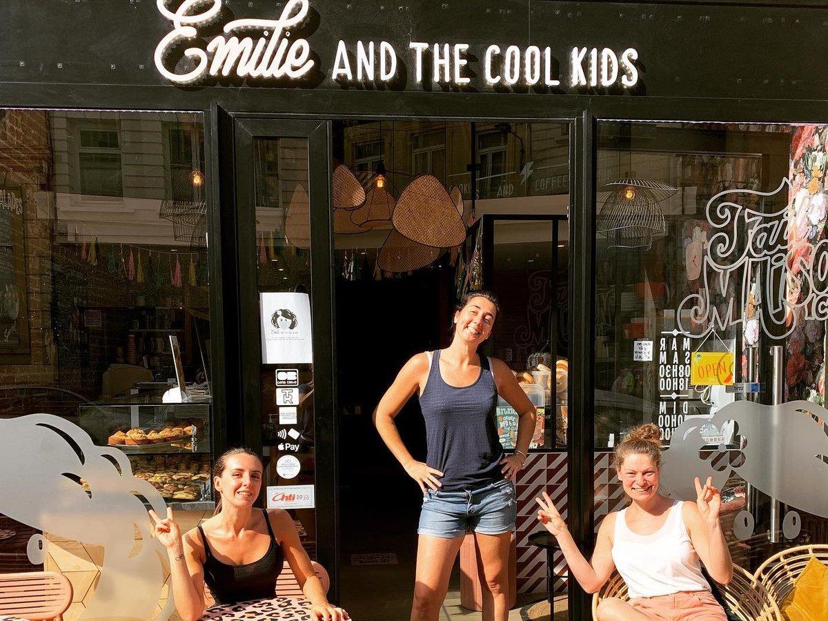 Salon de thé Emilie and the cool kids