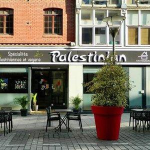Palestinian restaurant à roubaix