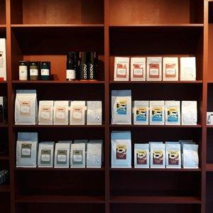 Cafés Muda à Lille, paquets de cafés de spécialité