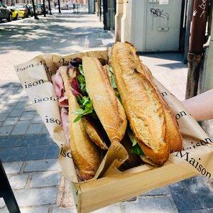 Maison Jaja à Lille sandwichs