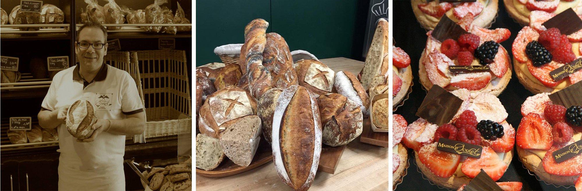 Présentation boulangerie Maison Doucet à Lille