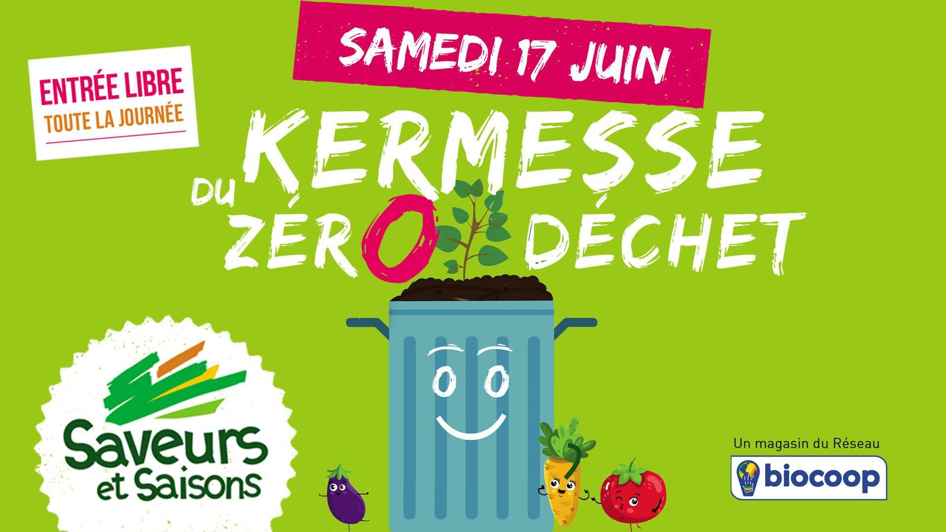 Kermesse du Zéro Déchet, Saveurs et Saison à Villeneuved'ascq