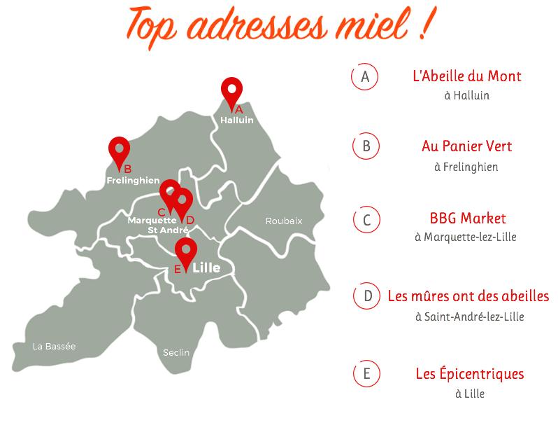 Top-adresses-miel-lille-métropole