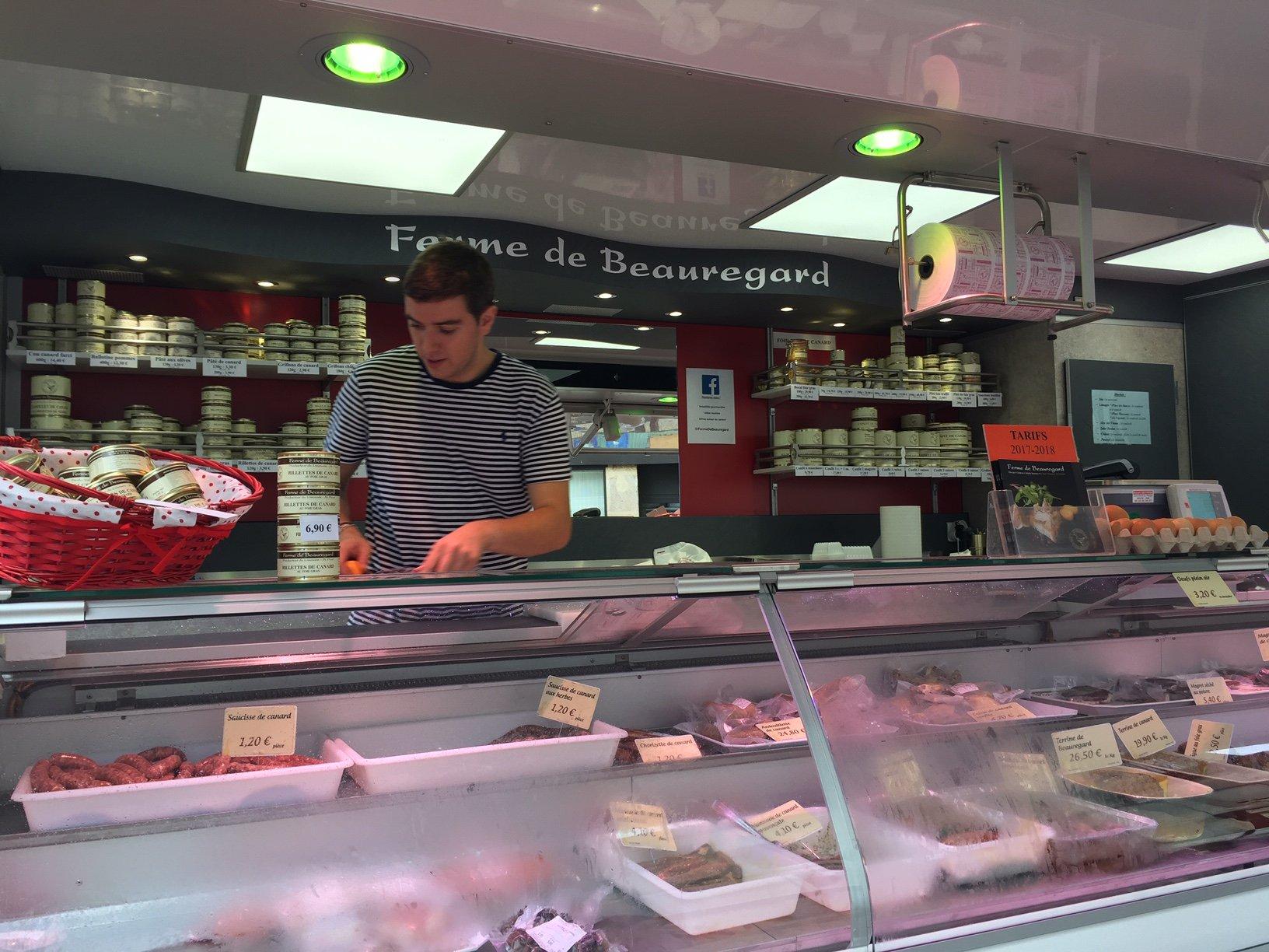 Ferme de Beauregard au marché de Saint-Junien