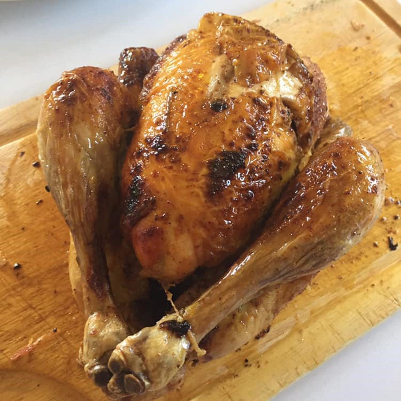 Poulet rôti au four recette