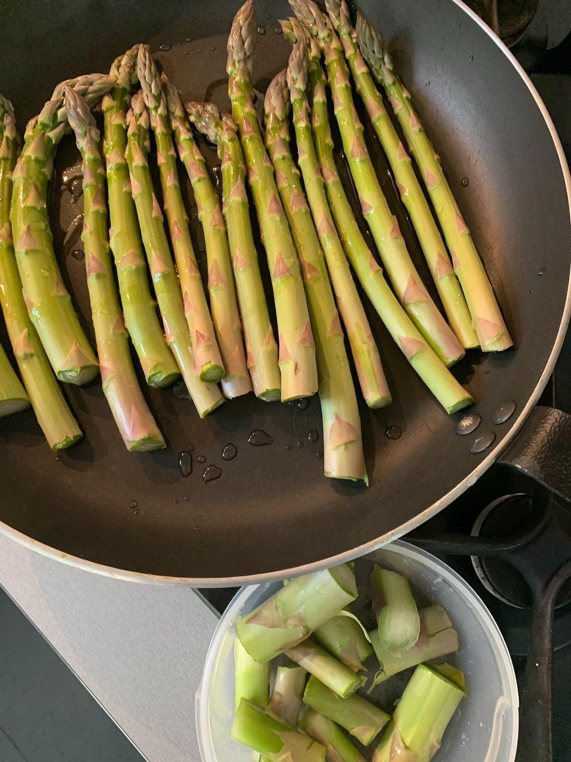 cuisson asperges vertes