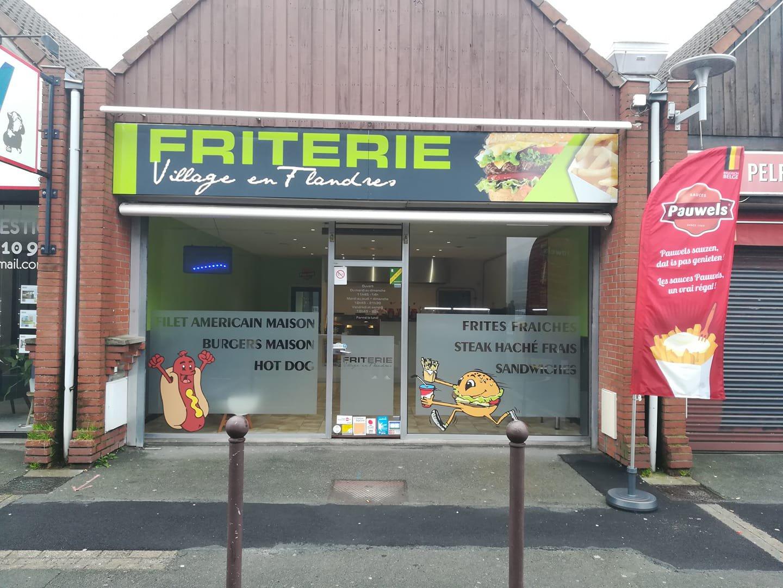 Friterie Villages en Flandres-Marquette-lez-Lille