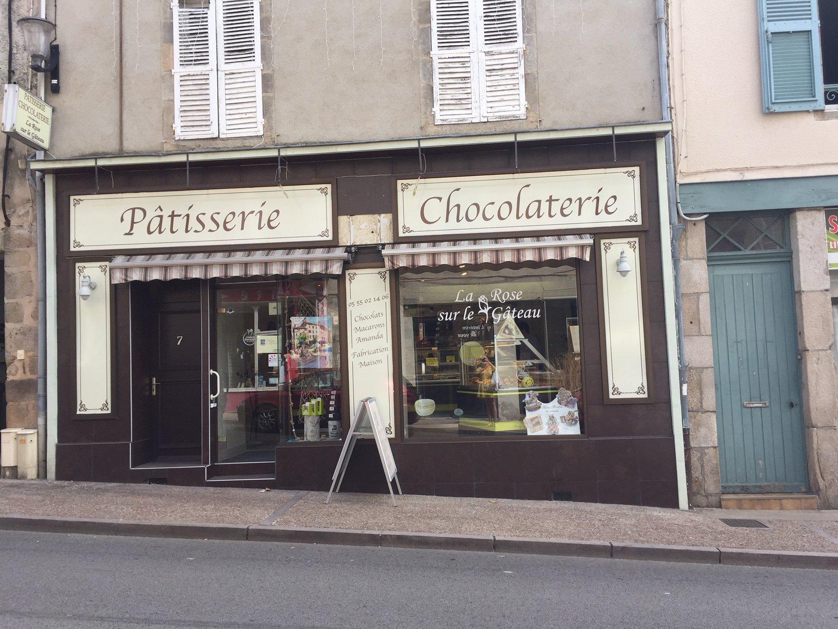 La Rose sur le Gâteau, pâtisserie à Saint-Junien Avis de Gourmets