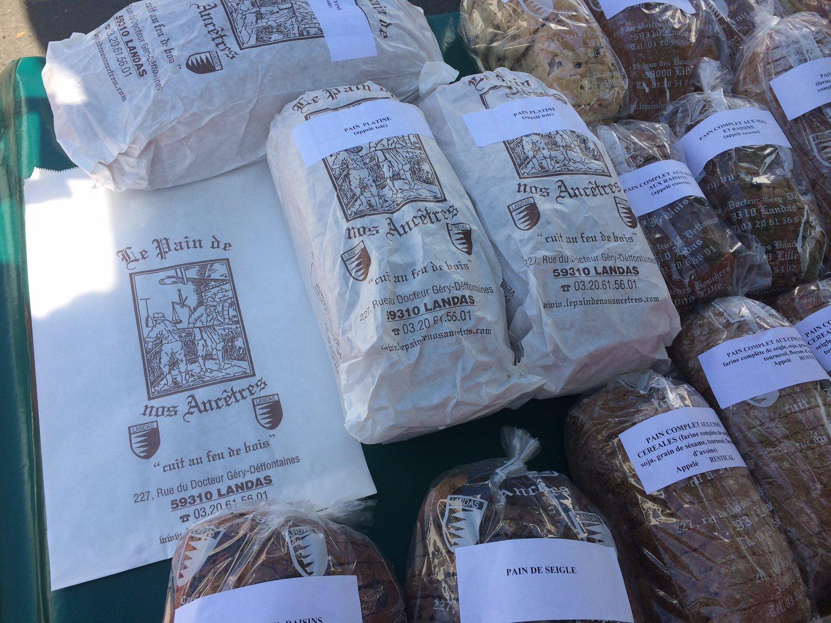 Le pain de nos ancêtres-Villeneuve-d'Ascq