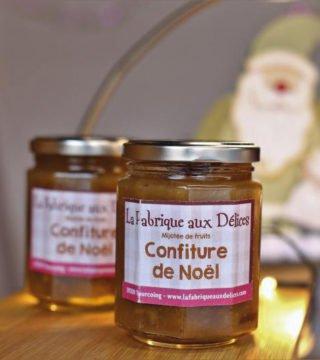 La Fabrique aux Délices à Tourcoing confiture de Noël
